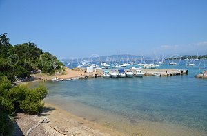 Port Beach - Iles de Lérins - St Honorat