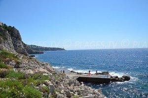 Spiaggia della Plateforme