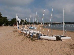 Plage de Port d'Albret - La Sauvagine - Soustons