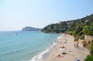 Spiaggia del Canadel