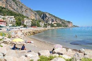 Beach for dogs - Menton