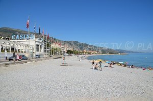 Casino beach - Menton