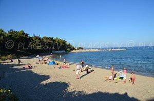 Spiaggia Ansa del Vieux Moulin - Port Grimaud