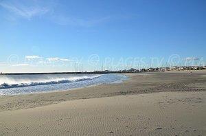 Spiaggia dell'Arena (des Arènes)  - Saintes-Maries-de-la-Mer