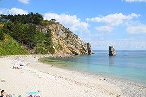 crozon plage - Image