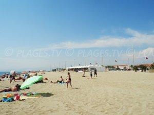 Spiaggia del Villaggio Centrale