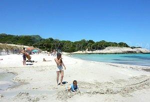 Spiaggia di  Petit Sperone