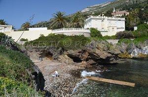 Douaniers beach - Cap-d'Ail