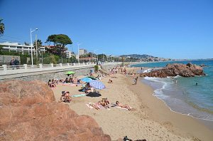 Rochers Beach - Cannes-la-Bocca