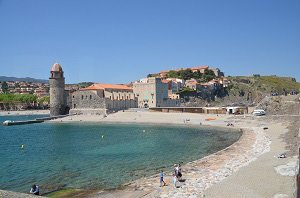 Plage Saint Vincent - Collioure