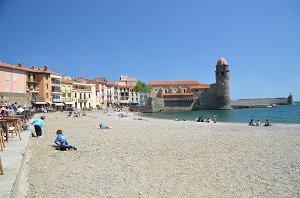 Spiaggia di Boramar - Collioure