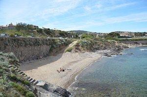 La Gaillarde West Beach - Les Issambres