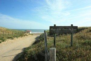 Spiaggia della Parée du Jonc