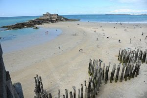 Plage de l'Eventail - Saint-Malo