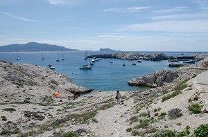 Port Pomegues Calanque - Ile de Frioul