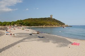 Spiaggia della Torre Genovese Fautea