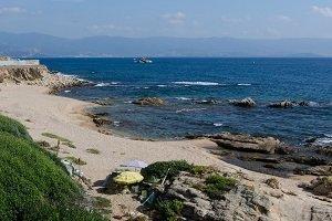Spiaggia delle Cretes