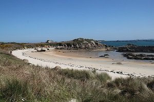 Penn ar Waremm Beach - Callot island - Carantec