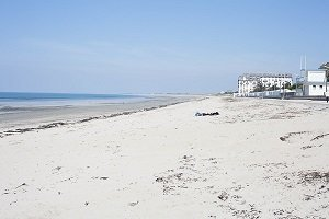 Donville Beach - Point of La Lude - Donville-les-Bains