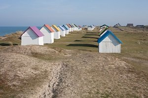 Cabines de Bains Beach - Gouville-sur-Mer