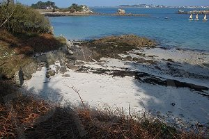 Naturist Beach of Perharidi - Roscoff