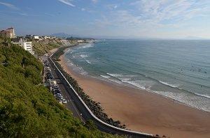 Spiaggia Cote des Basques