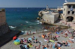 Spiaggia Bains Militaires