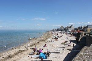 Plage de Saint Aubin sur Mer - Saint-Aubin-sur-Mer