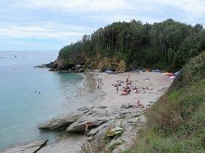 Sables Rouges Beach - Groix