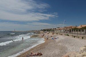 Spiaggia della Corniche - Sausset-les-Pins