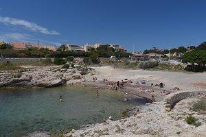 Spiaggia del Petit Nid - Sausset-les-Pins