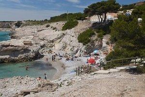 Spiaggia del Four à Chaux - Sausset-les-Pins