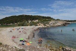Spiaggia di Bourmandariel - La Couronne