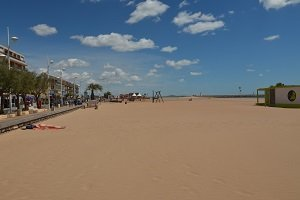 Plage Centrale - Valras-Plage