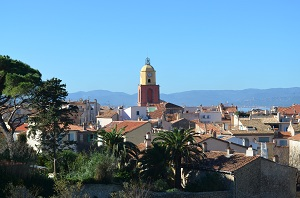 Beaches in Saint-Tropez