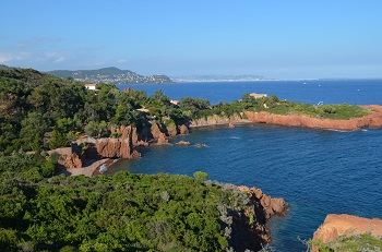 Beaches in Agay