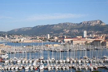 Beaches in Toulon