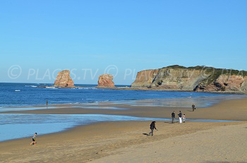 Beaches in Hendaye
