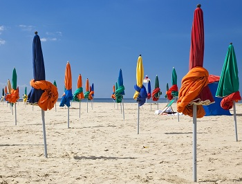 Beaches in Deauville