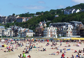 Beaches in Trouville-sur-Mer