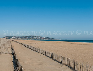 Beaches in Sète