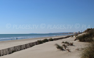 Beaches in Carnon