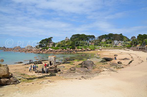 Spiagge Ploumanach