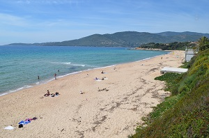 Beaches in Sagone