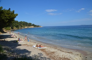 Beaches in Lavandou