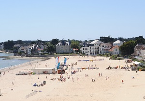 Beaches in Le Pouliguen
