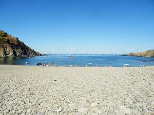 Beaches in Cerbère