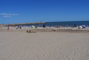 Beaches in Fleury d'Aude