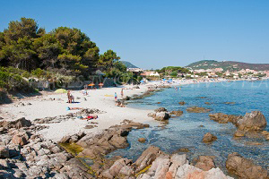 Beaches in L'Ile-Rousse