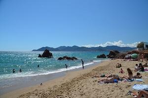 Beaches in Cannes-la-Bocca